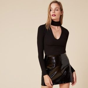 Reformation Piper Choker Top